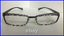 New Vintage ALAIN MIKLI A0606-04 A 0606-04 51mm Black Titanium Eyeglasses Frame