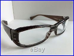 New Vintage ALAIN MIKLI AL10040001 56mm Rectangular Eyeglasses Frame