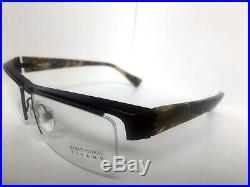 New Vintage ALAIN MIKLI AL 0880 0201 58mm Titane Titanium Men's Eyeglasses Frame