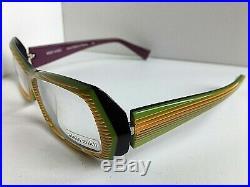 New Vintage ALAIN MIKLI AL 0945 0006 58mm Havana Women's Eyeglasses Frame