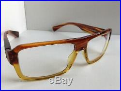 New Vintage ALAIN MIKLI AL 10010001 58mm Havana Men's Eyeglasses Frame France