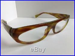 New Vintage ALAIN MIKLI AL 1009 0011 56mm Havana Women's Eyeglasses Frame France