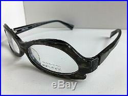 New Vintage ALAIN MIKLI AL 1019 0004 56mm Gray Cat Eye Eyeglasses Frame France