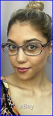 New Vintage ALAIN MIKLI AL 10200202 Rx Women's Eyeglasses Frame France