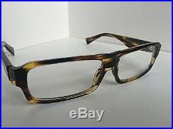 New Vintage ALAIN MIKLI AL 1027 0002 59mm Havana Men's Eyeglasses Frame France