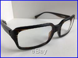 New Vintage ALAIN MIKLI AL 10280002 57mm Havana Eyeglasses Frame France