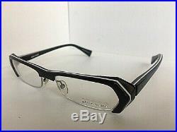 New Vintage ALAIN MIKLI A 0474 17 52mm Black Semi-Rimless Women Eyeglasses Frame