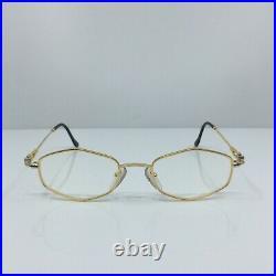 New Vintage FRED Lunettes BELLE ILE Bicolore Gold C. 001 Eyeglasses 47mm France