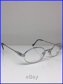 New Vintage FRED Lunettes Ketch Platine Eyeglasses Force 10 Made In France 47mm