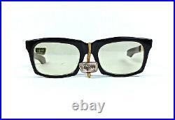 Nos Iom Rosalux Sunglasses Gold Filled G12 Vintage 50s France Made 135-5 1/4