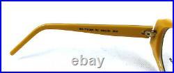 Nos Jean Lempereur Sunglasses / Eyeglasses Vintage 70s Yellow France Made Nos