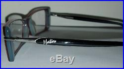 Nos Vintage Claude Montana Iconic Eyeglass Frame Red 2die4 France