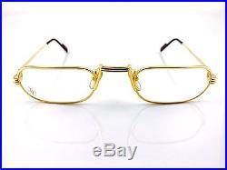Occhiali Cartier Lune T8100012 Vintage Eyewear Frame Deadstock 1980's