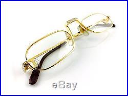 Occhiali Cartier Lune T8100014 Vintage Eyewear Frame Deadstock 1980's