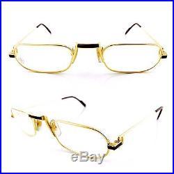 Occhiali Cartier Lune T8100016 Vintage Eyewear Frame Deadstock 1980's