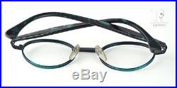 Orig 90s Vintage ALAIN MIKLI Eyeglass FRAME hand made France 46-21 NOS unworn