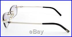Orig. CARTIER Frame mod. PAKIRI Jewelry Platinum Rimless 50-16 130 France NEW