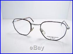 Original Faconnable Eyeglasses New Mod 526 Women Men True Vintage 48 mm Handmade