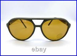 POLAROID mod. 8976 vintage Aviator Sunglasses lenses Made in France 80's NOS