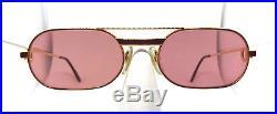 RARE! CARTIER MUST LAQUE Vintage Eyeglasses / Sunglasses with Case! Vendome