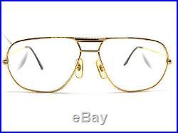RARE! CARTIER TANK 1988 59-14 140 Vintage Eyeglasses / Sunglasses Vendome 11022