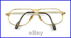 RARE! CARTIER TANK 1988 62-12 140 Vintage Eyeglasses / Sunglasses Vendome