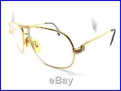 RARE! CARTIER TANK 59-12 135 Vintage Eyeglasses / Sunglasses santos Vendome