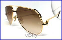 RARE! CARTIER Vendome LAQUE Vintage Eyeglasses / Sunglasses with Case! Santos