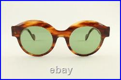 Rare Authentic Anne Et Valentin Signoret 0930 Tortoise Green 47mm Sunglasses