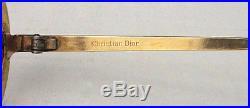 Rare Vtg Christian Dior Enameled 60s Eyeglasses 1/20 12k GF