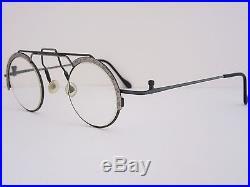 Rare ZOIDO 17 04 Lux de Paris Eyeglasses Sunglasses Round Frame, Funky, France