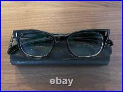Retrospecs & Co Company Genuine Vintage Eyeglass Frames Black Brummel France