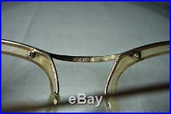 Sam, eyeglasses, 18kt gold filled, round, oval, frames, women's, super vintage