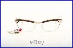 Smaller antique 50s goldfilled combi eyeglasses by ANJOU OK France -N95