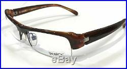 Starck Eyes P0839 63 Eyeglasses Havana Brown Frame Vintage 56mm