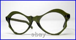 Superbe vintage lunette eyeglasses 1950 frame france rare