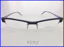 Thierry Mugler Black Eyeglasses Frame Amazing Glasses Mod. TM9004 Free Shipping