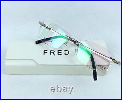 Titanium Fred Lunettes Winch 006 Sunglasses / Eyeglasses France 57-17 140 New