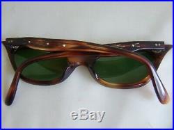 True Vintage Tortoise Shell Rhinestone Cat-Eye Eyeglasses Frames France Made Sex