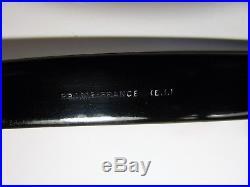VINTAGE 50's FRANCE TART FDR STYLE HORN RIM EYEGLASSES SUNGLASSES FRAME 50-24