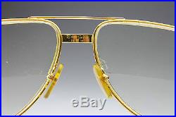 VINTAGE CARTIER 1983 SANTOS 5616 / GOLD LUXURY FRAME / MADE in FRANCE