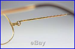 VINTAGE CARTIER 1988 5614 / GOLD LUXURY FRAME / MADE in FRANCE