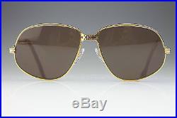 VINTAGE CARTIER 1988 5914 / GOLD LUXURY FRAME / MADE in FRANCE