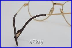 VINTAGE CARTIER 1988 SAPPHIRE 5518 / GOLD 18K LUXURY FRAME / MADE in FRANCE