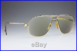 VINTAGE CARTIER 1988 TANK 5914 / GOLD LUXURY FRAME / MADE in FRANCE