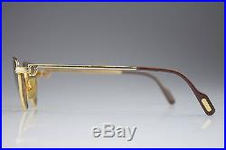 VINTAGE CARTIER GOLD CAT EYE 5619 / LUXURY / MADE in FRANCE / SUNGLASSES