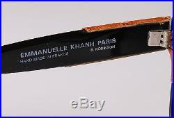Vintage Emmanuelle Khanh Paris Sunglasses 8080 16 Os B. Robinson Sunnies Frames