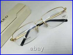 VINTAGE FRED Lunettes Winch Half Frame Eyeglasses Sunglasses Mens Made in France
