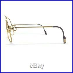 VTG 1983 Authentic Cartier Vendome Louis 62 14 140 GP Sunglass Eyeglass Frames
