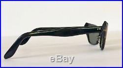 VTG FRENCH Sunglasses NEW Pink & Black Cat Eye Pointy Bat Frames Eyeglasses